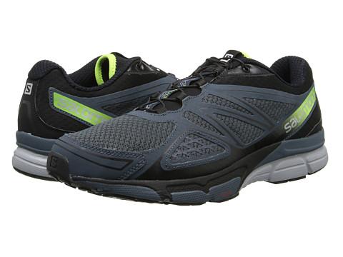 Salomon - X-Scream 3D (Grey Denim/Black/Fluo Yellow) Men's Shoes