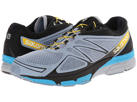 Salomon - X-Scream 3D (Stone Blue/Black/Boss Blue) Men's Shoes