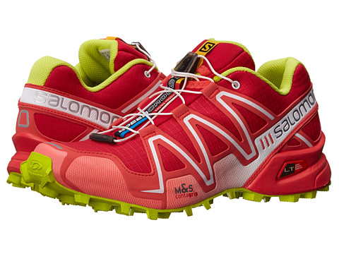 Salomon - Speedcross 3 (Lotus Pink/Papaya-B/Gecko Green) Women's Running Shoes