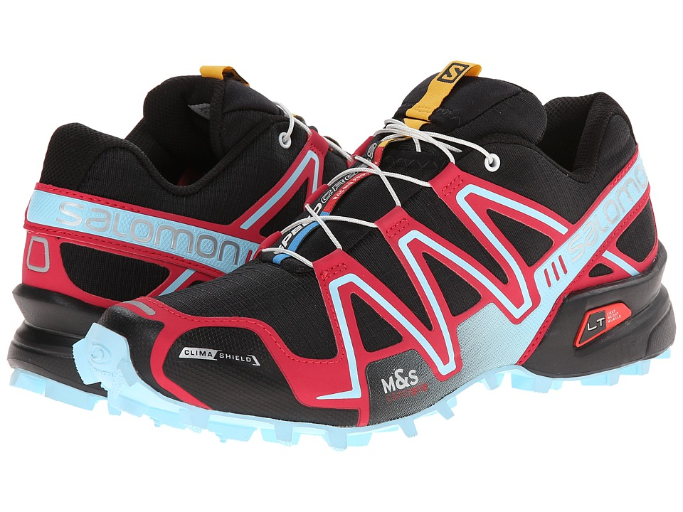 Salomon - Speedcross 3 CS (Black/Lotus Pink/Air) Women's Running Shoes