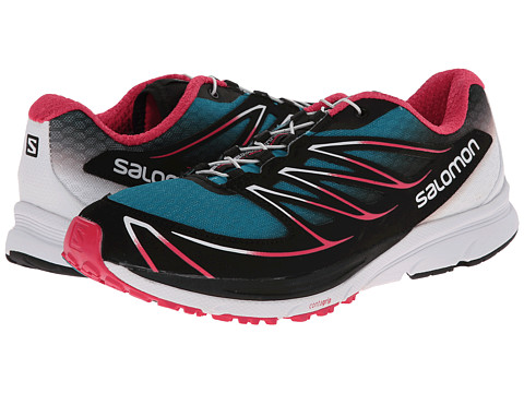 Salomon - Sense Mantra 3 (Peacock Blue/White/Hot Pink) Women