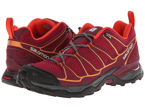 Salomon - X Ultra Prime (Carmine/Bordeaux/Orange Feeling) Women's Shoes