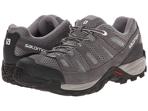 Salomon - Cherokee (Pewter/Autobahn/Topaz Blue) Women's Shoes