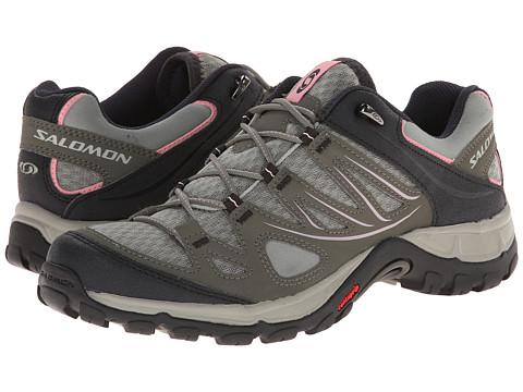 Salomon - Ellipse Aero (Verdigrey/Tempest/Sakura Pink) Women's Shoes