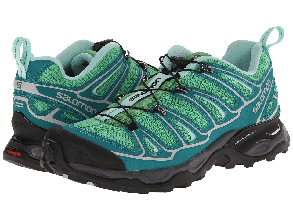 Salomon - X Ultra 2 (Wasabi/Peacock Blue/Igloo Blue) Women's Shoes