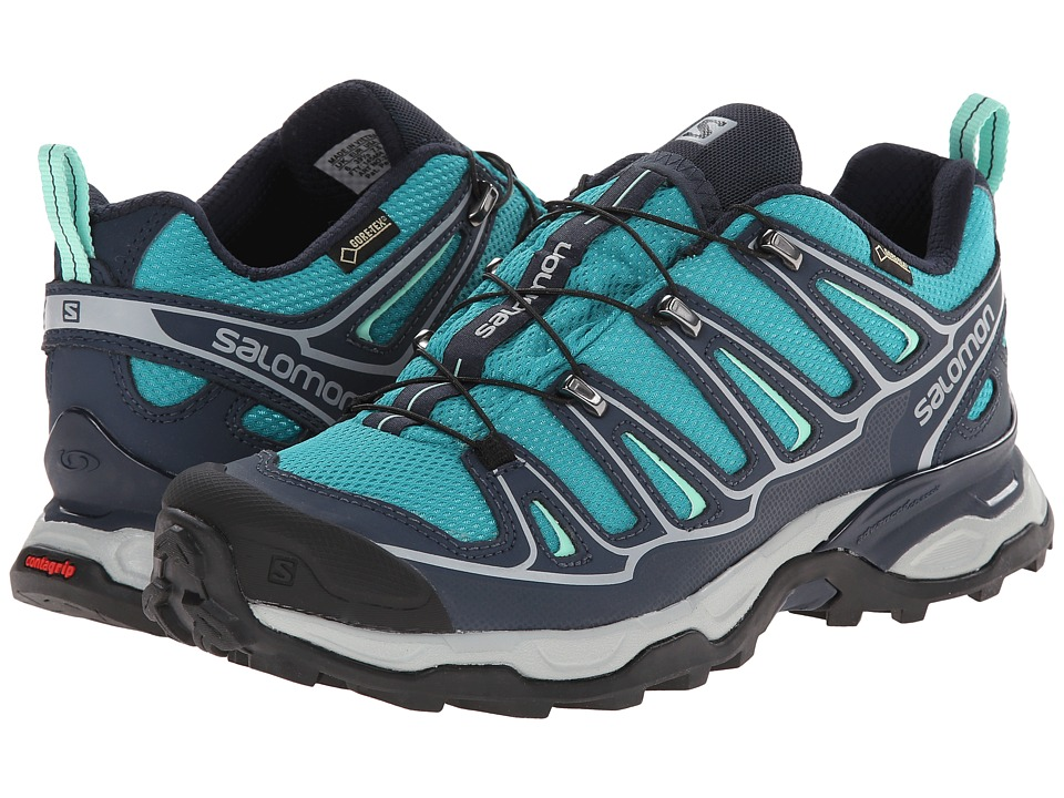 Salomon - X Ultra 2 GTX (Peacock Blue/Deep Blue/Lucite Green) Women's Shoes