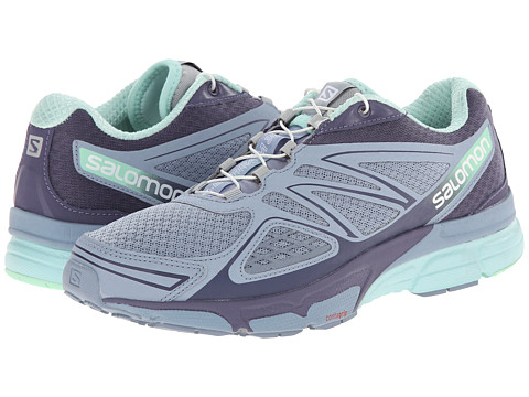Salomon - X-Scream 3D (Stone Blue/Artist Grey-X/Lucite Green) Women's Shoes