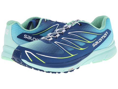 Salomon - Sense Mantra 3 (Gentiane/Igloo Blue/Firefly Green) Women's Shoes