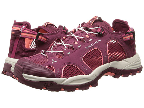 Salomon - Techamphibian 3 (Bordeaux/Carmine/Melon Bloom) Women's Shoes