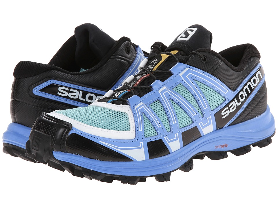 Salomon - Fellraiser (Topaz Blue/Petunia Blue/White) Women's Shoes