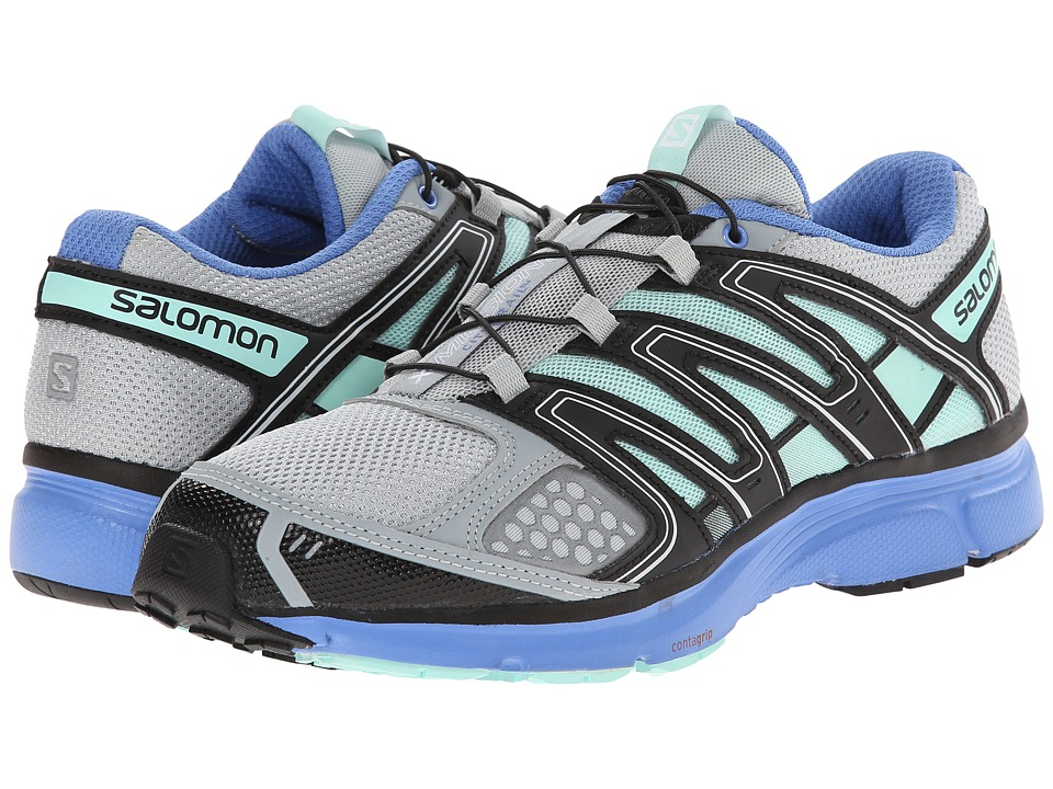 Salomon - X-Mission 2 (Light Onix/Petunia Blue/Igloo Blue) Women's Shoes
