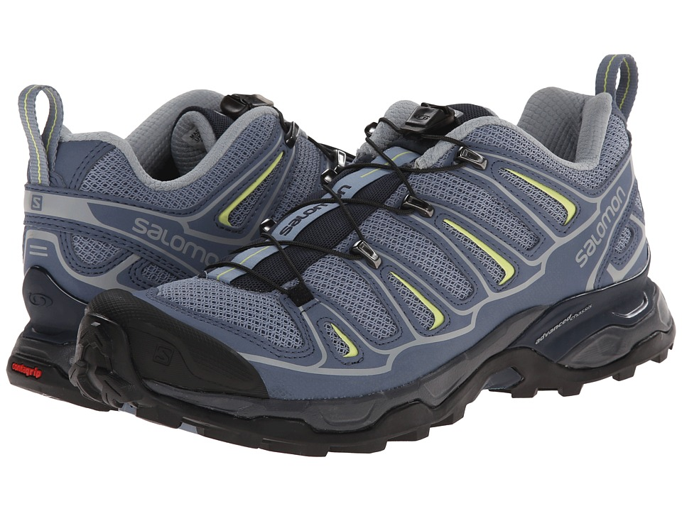 Salomon - X Ultra 2 (Stone Blue/Bleu Gris/Flashy-X) Women's Shoes