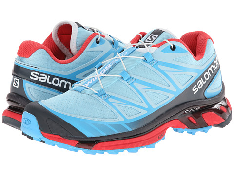 Salomon - Wings Pro (Air/Blue Line/Papaya-B) Women's Shoes