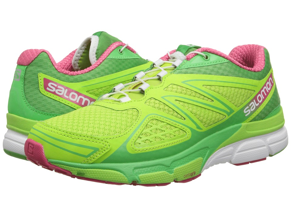 Salomon - X-Scream 3D (Firefly Green/Wasabi/Hot Pink) Women