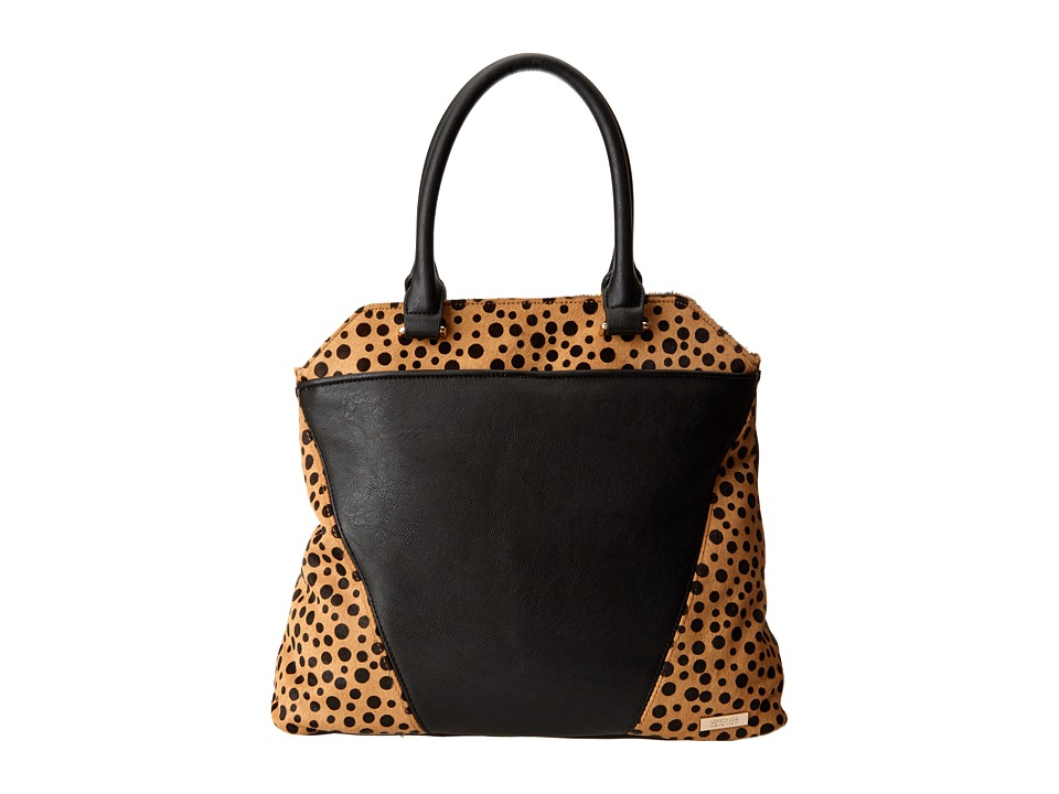 Kenneth Cole Reaction - 4 Easy Pieces Tote (Black/Polka Dot) Tote Handbags
