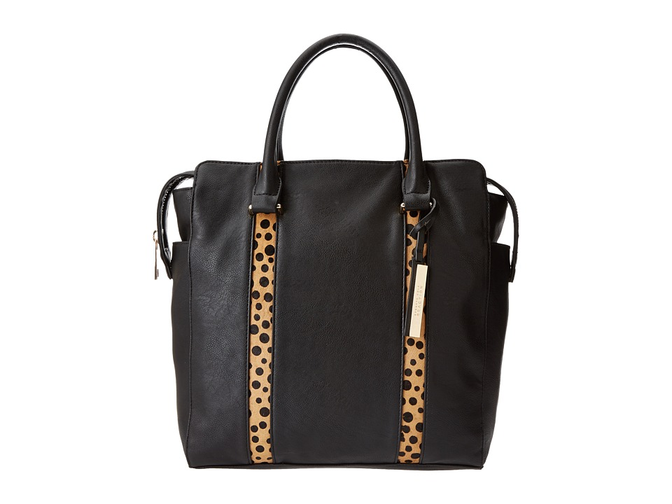 Kenneth Cole Reaction - Northern Exposure Tote (Black/Polka Dot) Tote Handbags