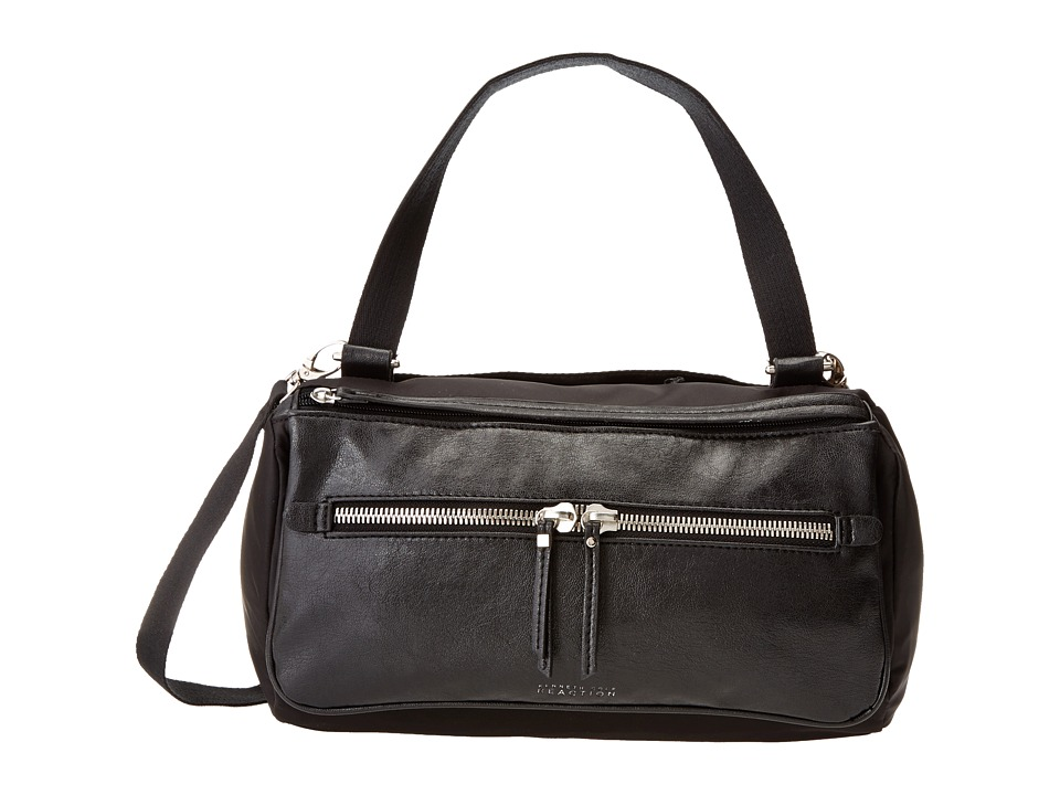 Kenneth Cole Reaction - Strap Hanger Satchel (Black/Black) Satchel Handbags