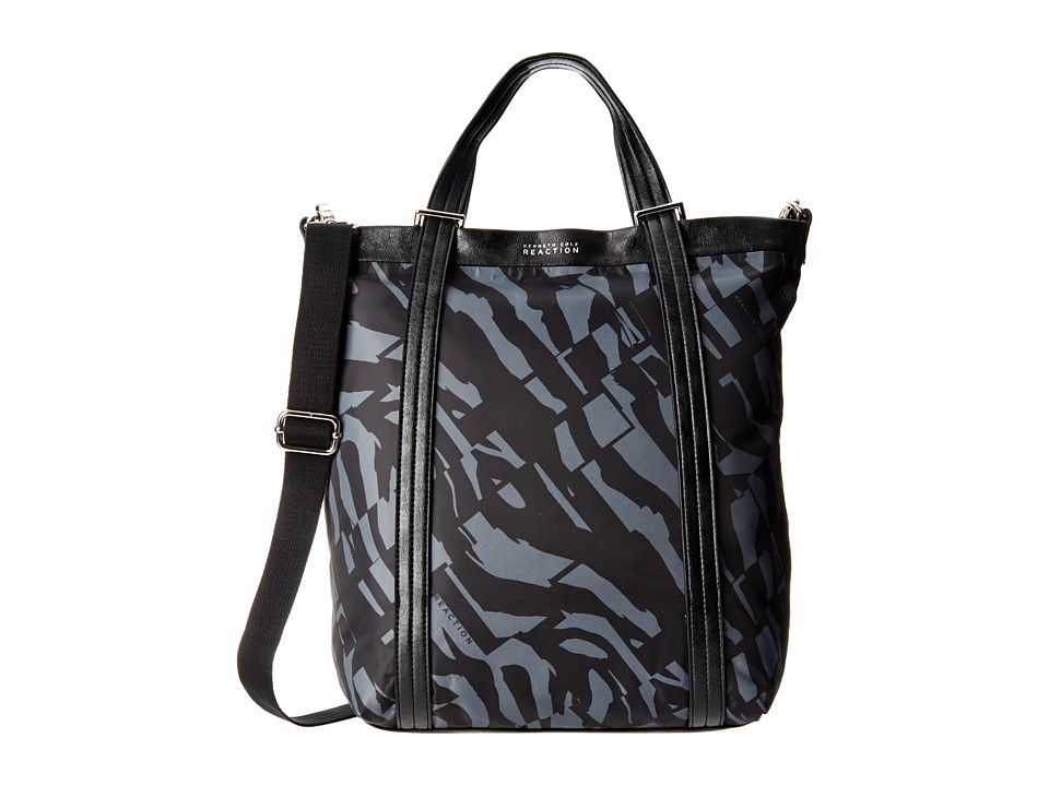 Kenneth Cole Reaction - Strap Hanger Tote (Black Grey/Black) Tote Handbags