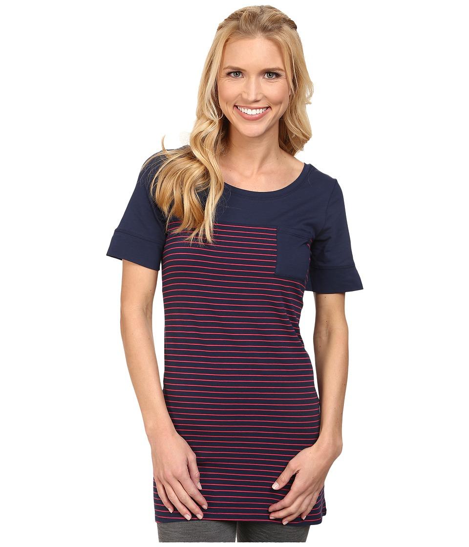 Lole - Principle Tunic (Blueberry 2 Tones) Women's T Shirt