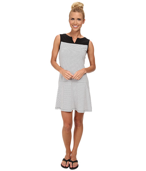 Lole - Arleta Dress (White 2 Tones) Women