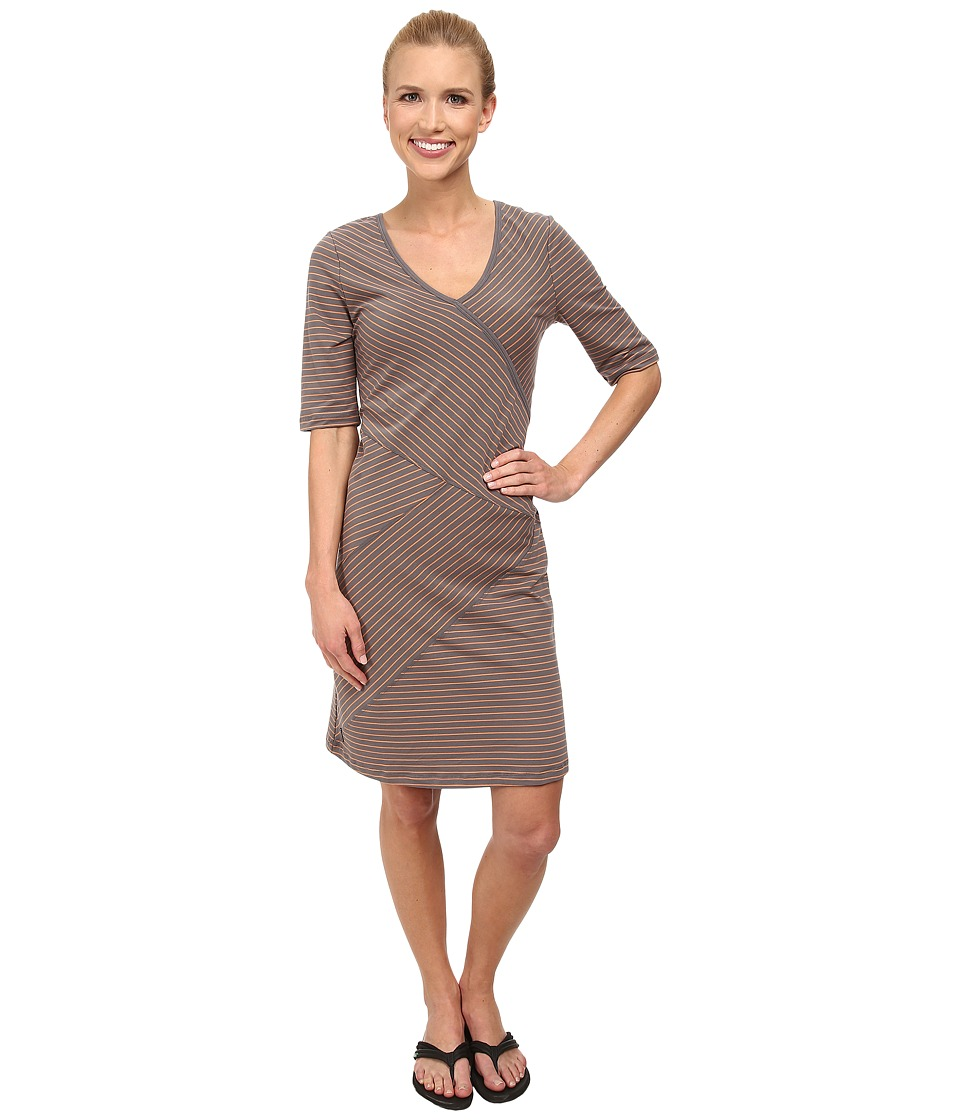 Lole - Leena V-Neck Dress (Oyster 2 Tones) Women