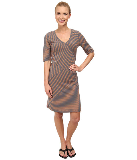 Lole - Leena V-Neck Dress (Oyster 2 Tones) Women's Dress