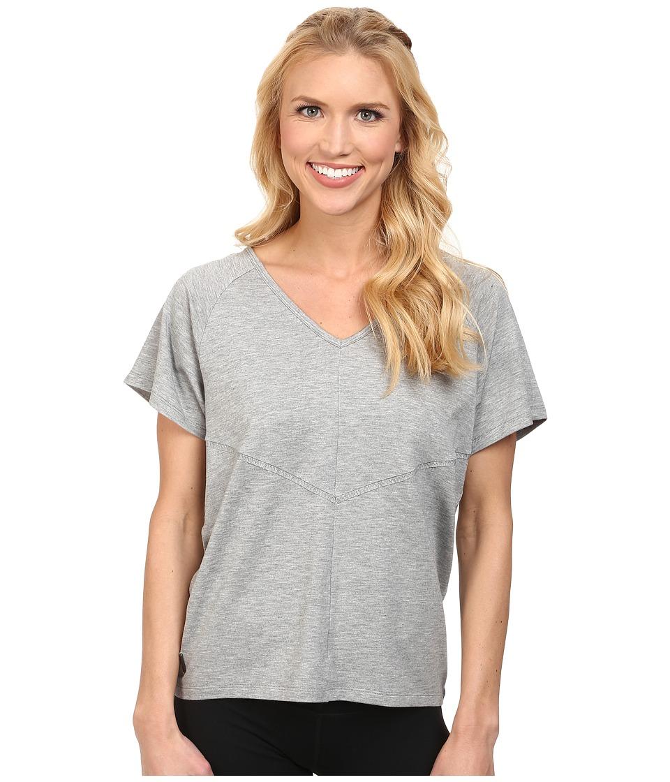 Lole - Arlene Top (Morel Heather) Women's Short Sleeve Pullover