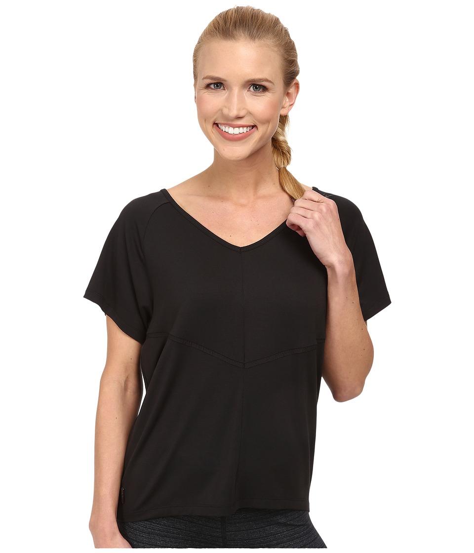 Lole - Arlene Top (Black) Women's Short Sleeve Pullover