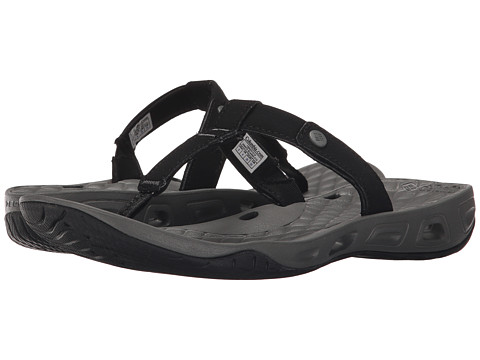 Columbia - Sunlight Vent Flip (Black/Charcoal) Women
