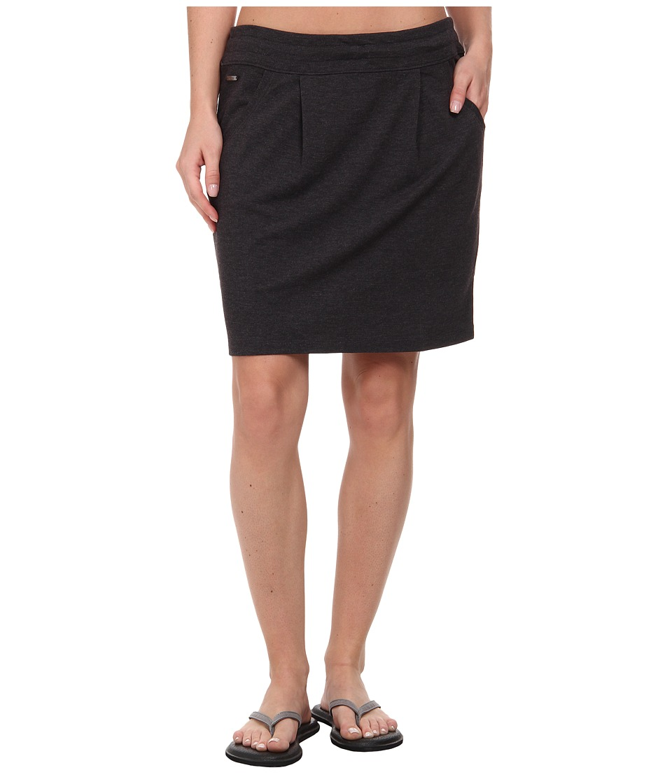 Lole Hailey 2 Skirt (Black Heather) Women