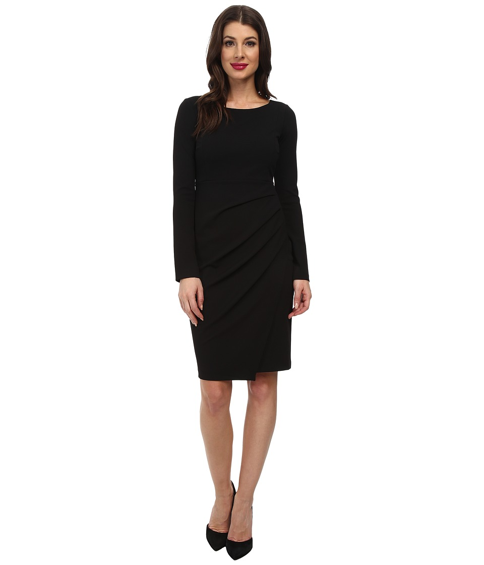 NYDJ - Jodi Stretch Crepe Dress (Black) Women's Dress