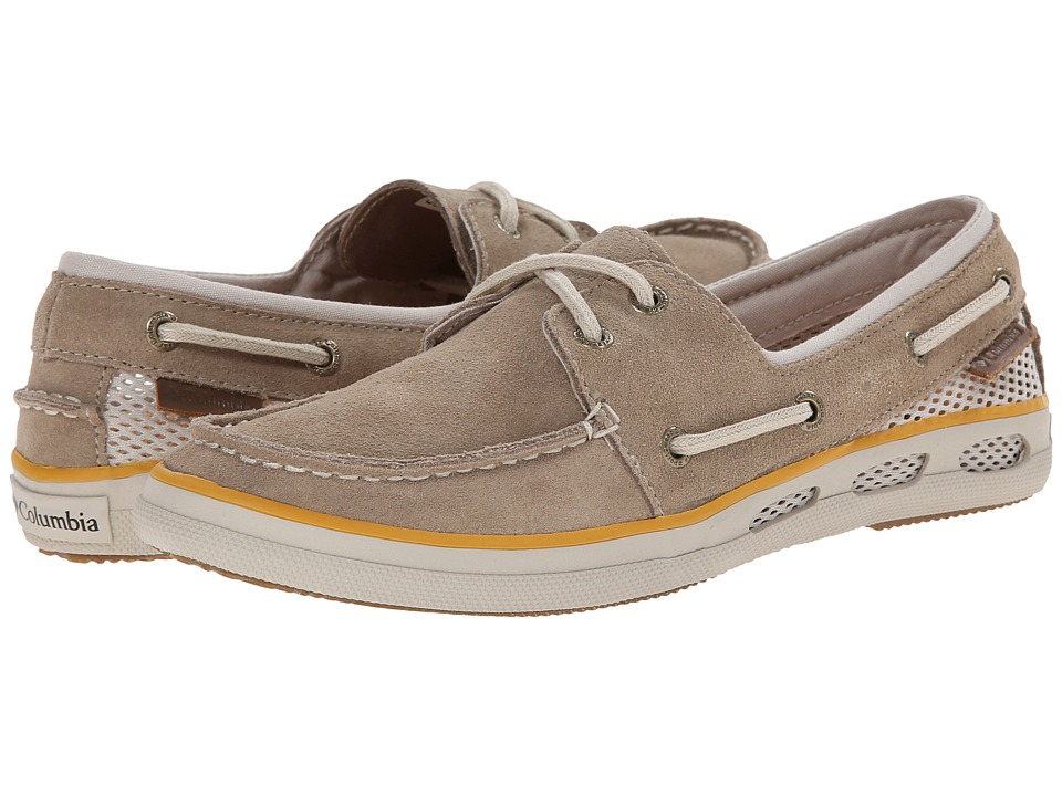 Columbia - Vulc N Vent Boat Suede (Oxford Tan/Stone) Women's Shoes