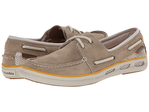 Columbia - Vulc N Vent Boat Suede (Oxford Tan/Stone) Women