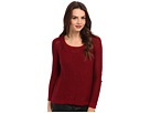 DKNY Jeans Sequin Pullover Sweater (Ruby)