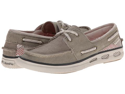 Columbia - Vulc N Vent Boat Canvas (Verdant/Stone) Women's Shoes