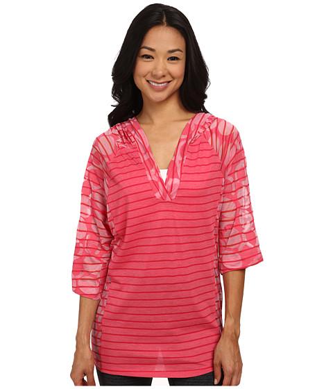 Lole - Reggae V-Neck Top (Rhubarb Gelato) Women's T Shirt
