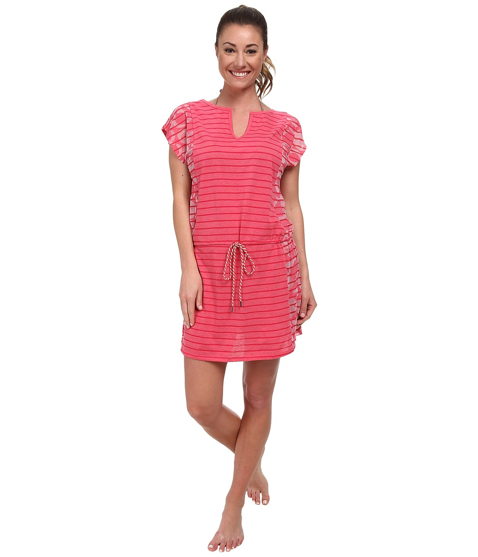 Lole Salsa Short-Sleeve Dress (Rhubarb Gelato) Women