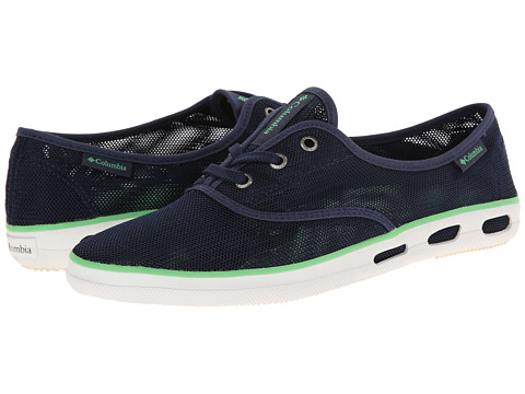 Columbia - Vulc N Vent Lace Mesh (Nocturnal/Chameleon Green) Women's Lace up casual Shoes