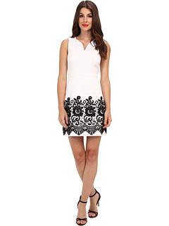 SALE! $207.99 - Save $80 on Ali Ro A Line Sheath Dress (White Black) Apparel - 27.78% OFF $288.00