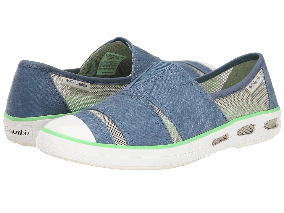 Columbia - Vulc N Vent Slip (Blue Heron/Flint Grey) Women's Slip on Shoes