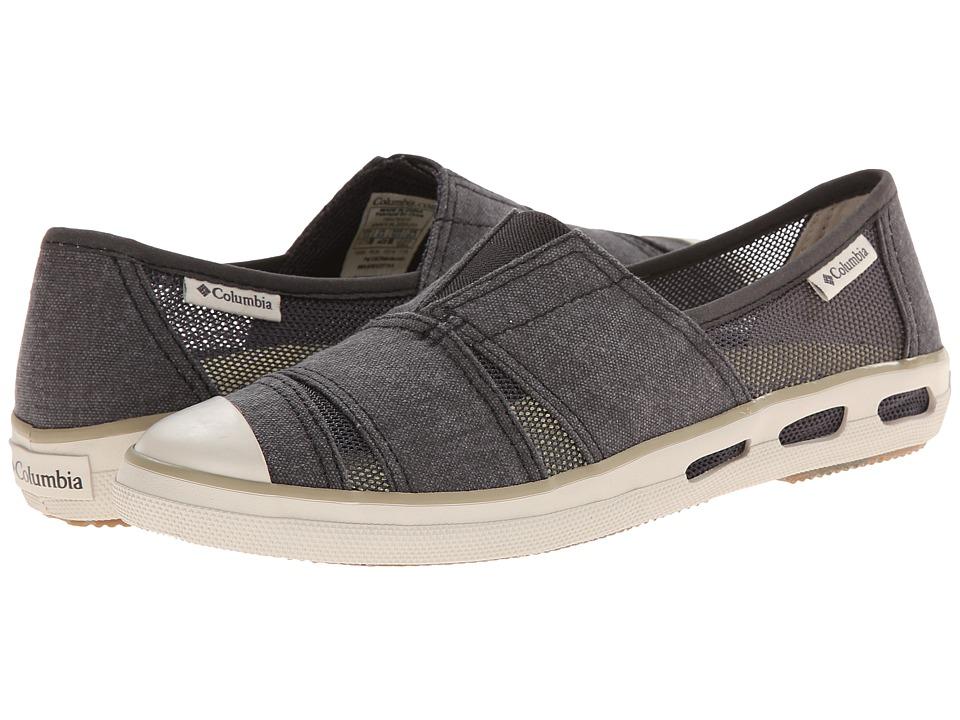 Columbia - Vulc N Vent Slip (Shark/Verdant) Women's Slip on Shoes