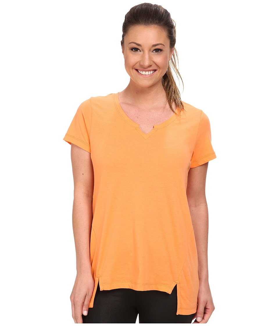 Lole - Coral Top (Melon) Women's Short Sleeve Pullover
