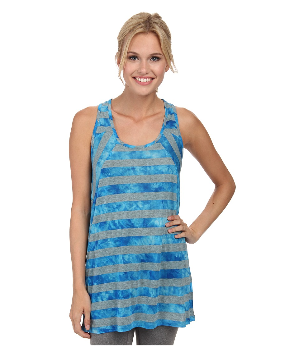 Lole - Dawn Top (Blue Potato Stripe) Women's Sleeveless