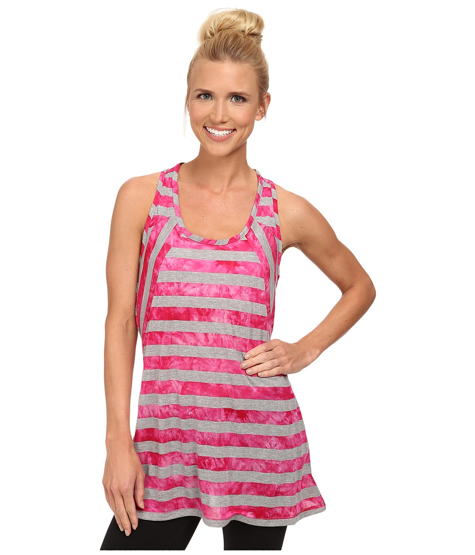 Lole - Dawn Top (Rhubarb Stripe) Women's Sleeveless
