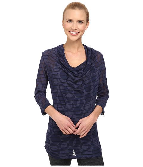 Lole - Sheer Top (Amalfi Blue Gelato) Women's Long Sleeve Pullover
