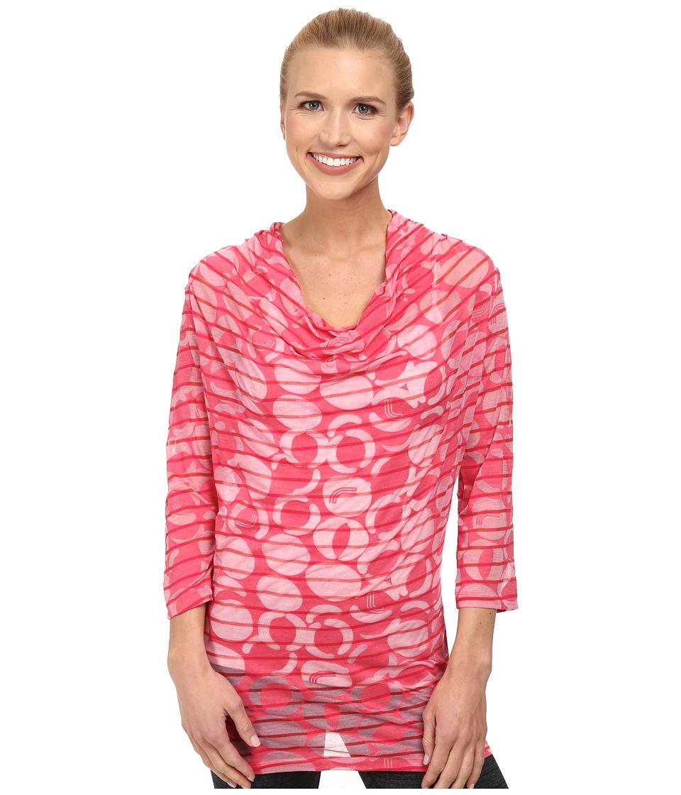 Lole - Sheer Top (Rhubarb Gelato) Women's Long Sleeve Pullover