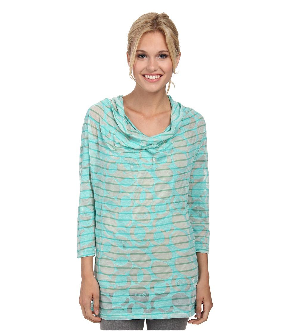 Lole - Sheer Top (Turquoise Gelato) Women's Long Sleeve Pullover