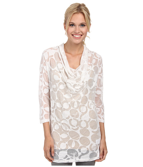 Lole - Sheer Top (White Gelato) Women