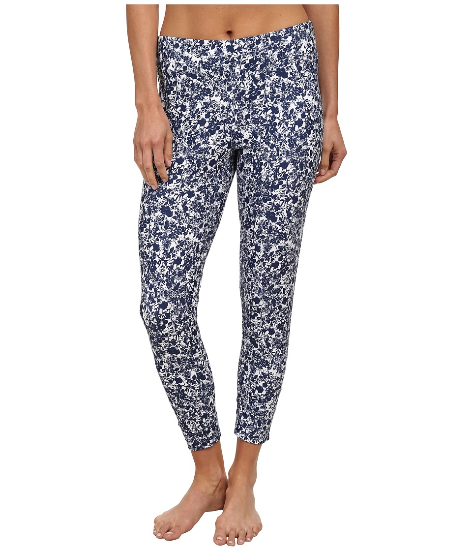 Lole - Celeste Legging (Mirtillo Blue Flower) Women's Casual Pants