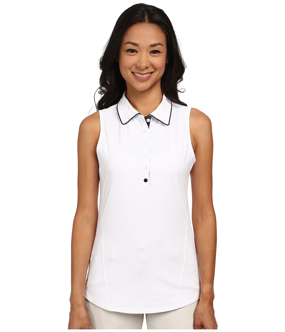 Lole - Astor Polo (White) Women's Sleeveless